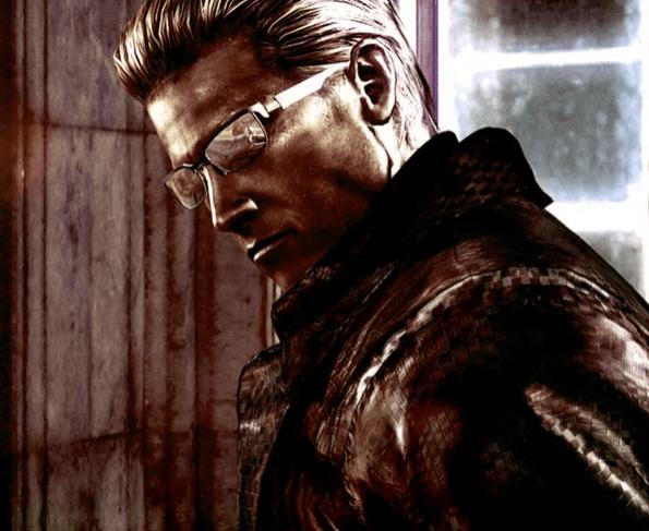 Альберт Вескер из Resident Evil
