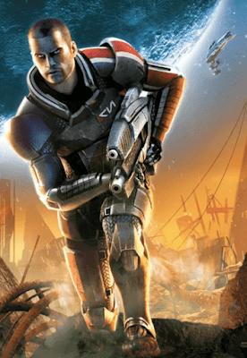 Капитан Шепард из Mass Effect