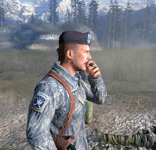 Гершель фон Шепард из Call of Duty
