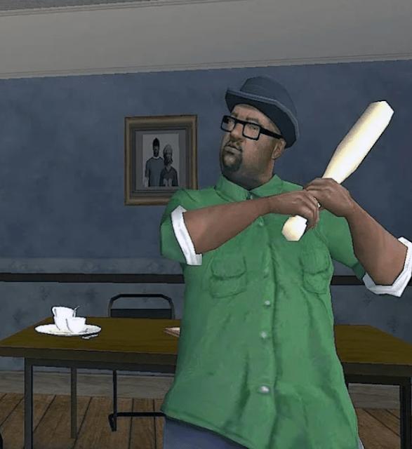 Биг Смоук из GTA San Andreas