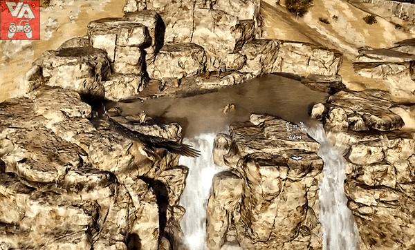 Бой на вершине водопада. Assassin`s Creed Odyssey