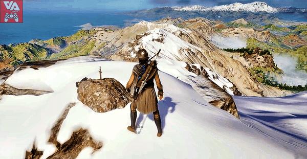 Меч в камне или Кларент. Assassin`s Creed Odyssey