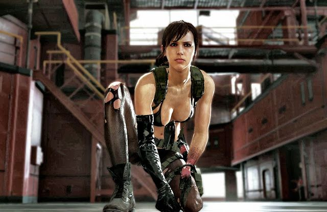 Молчунья из Metal Gear Solid V